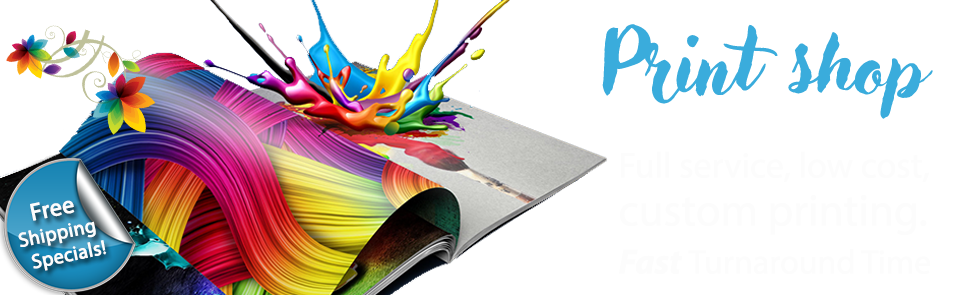 Full service printing – Low cost, custom printing. Fast Turnaround Time